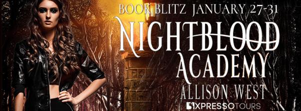 Nightblood Academy book blitz banner