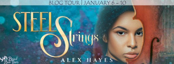 Steel Strings blog tour banner