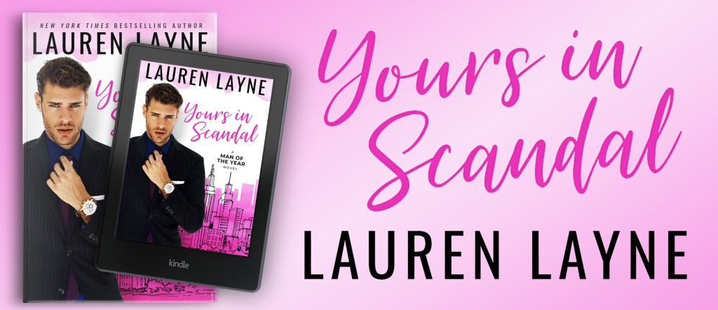 Yours in Scandal promo banner