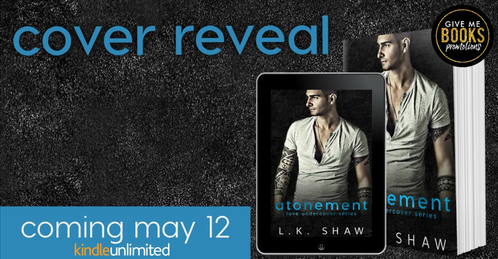 Cover reveal banner Atonement coming May 12 Kindle Unlimited