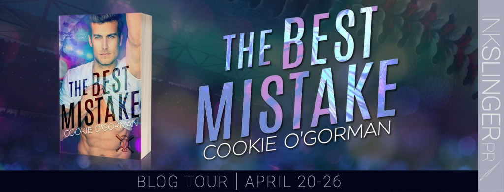 The Best Mistake blog tour banner