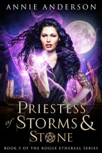 Priestess of Storm and Stone cover