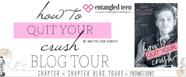 How to Quit Your Crush blog tour banner