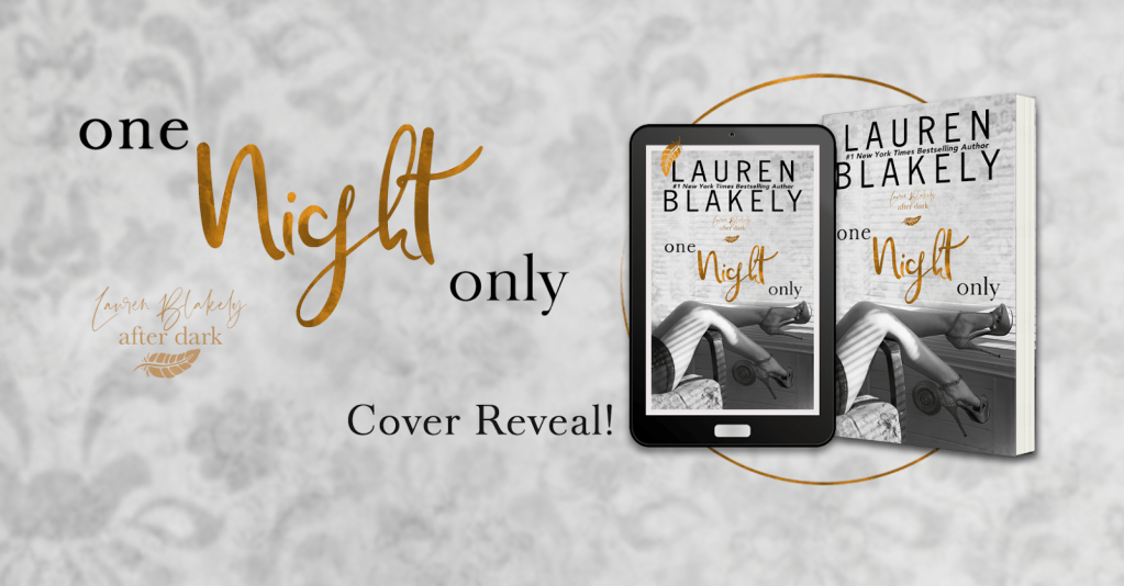 One Night Only cover reveal banner