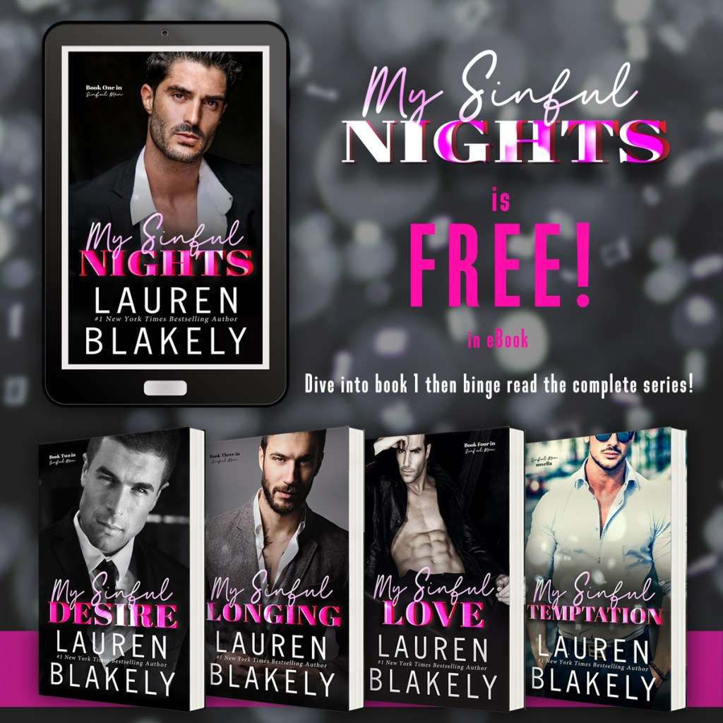 My Sinful Nights is FREE! in ebook Dive into book 1 then binge read the complete series!