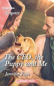 The CEO, the puppy, and me cover