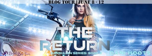 The return blog tour banner