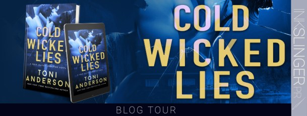 Cold Wicked Lies blog tour banner