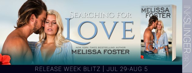 Searching for Love release week blitz banner