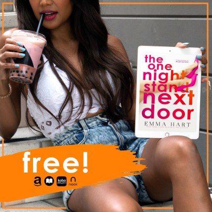 The One Night Stand Next Door free book graphic