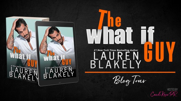 The What If Guy blog tour banner