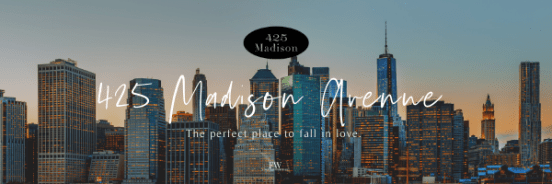 425 Madison Avenue series banner
