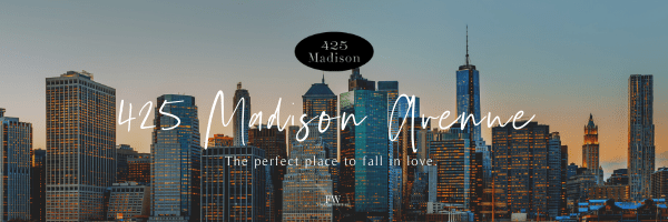 425 Madison Ave series banner