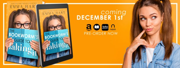A Bookworm's Guide to Faking It cover reveal banner