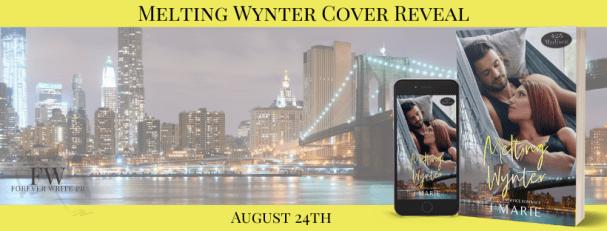 Melting Wynter cover reveal banner