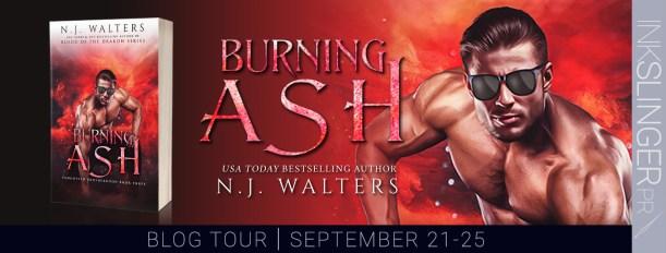 Burning Ash blog tour banner
