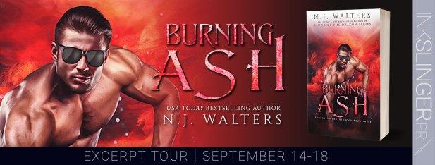Burning Ash excerpt tour banner