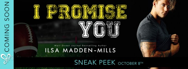 I Promise You pre-order sneak peek banner