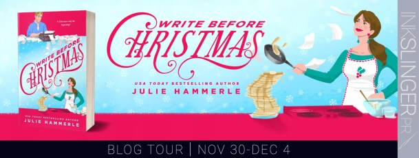 Write Before Christmas blog tour banner
