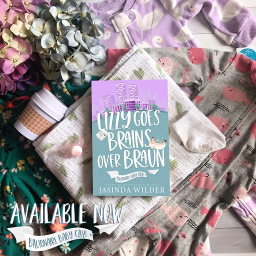 Lizzy Goes Brains Over Braun available now flatlay graphic
