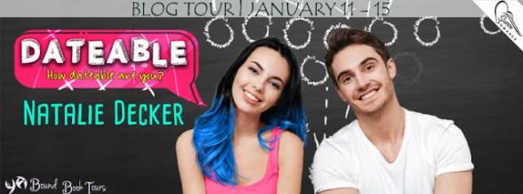 Dateable blog tour banner