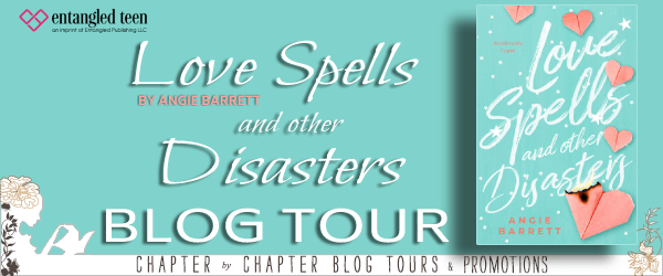 Love Spells and Other Disasters blog tour banner