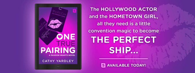 The Hollywood actor and the hometown girl, all they need is a little convention magic to become the perfect ship...  ONE TRUE PAIRING available today!