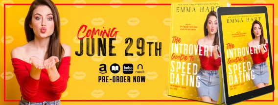 The Introvert's Guide to Speed Dating cover reveal banner