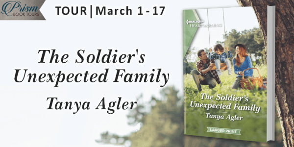 The Soldier's Unexpected Family tour banner