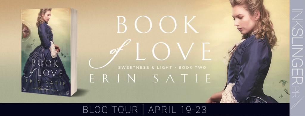 Book of Love by Erin Satie blog tour banner