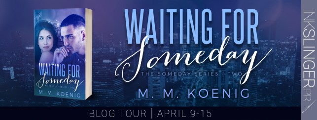 Waiting for Someday blog tour banner