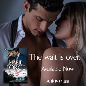 The wait is over State of Affairs by Marie Force teaser graphic