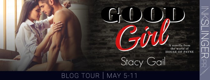 Good Girl blog tour banner