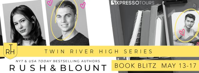Twin River High series book blitz banner