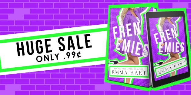 Frenemies graphic Huge sale only 99 cents sale banner