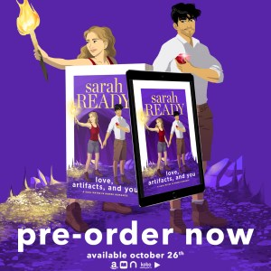 Preorder now graphic love, artifacts, and you