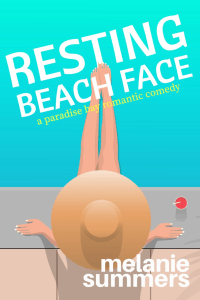 Resting Beach Face cover