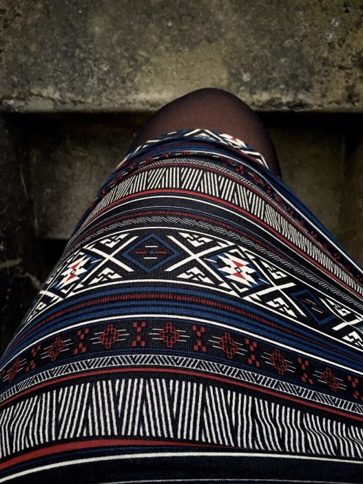 Tribal Patterned Bodycon Mini Skirt New Yorker