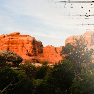 Walking in the Red Rock - Becky Reardon