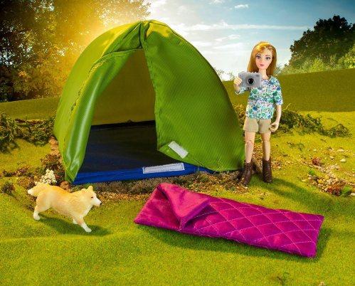 camping model set