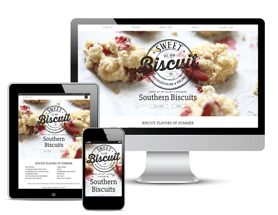 Sweet Biscuit Company Website