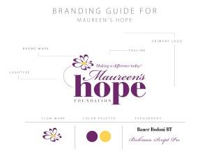Maureen's Hope Branding Guide
