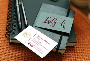 Creations by Lady A Business Card