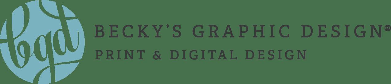 Our Design Portfolio | Becky's Graphic Design®