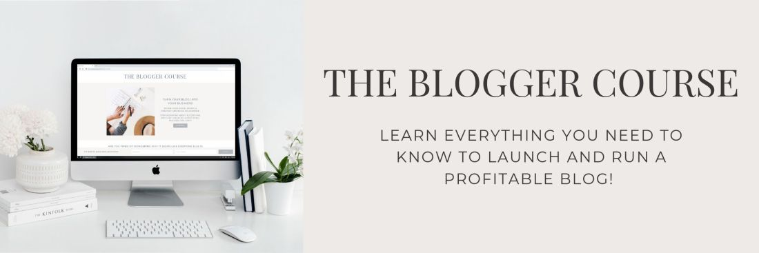 Enroll In The Blogger Course by Becky van Dijk