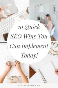 10 quick seo tips you cna implement today pinterest cover