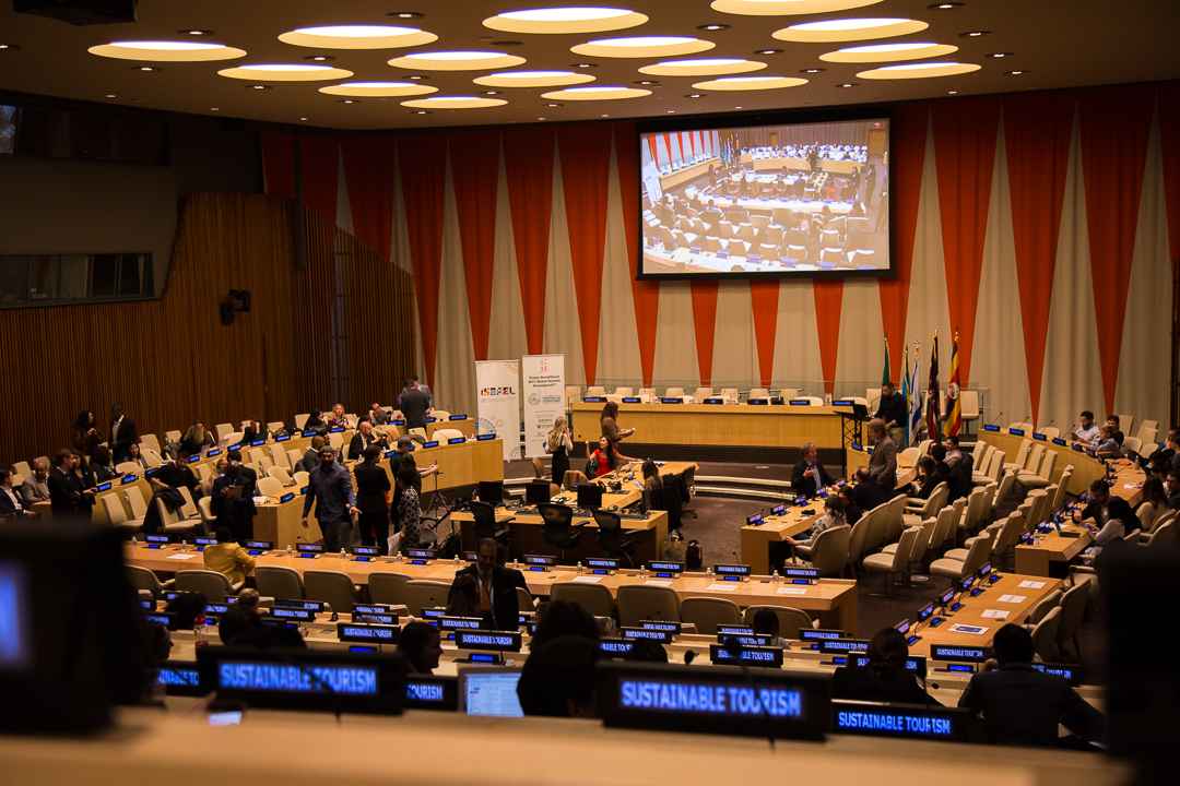 Impact Travel Alliance's global summit at the United Nations Headquarters in NYC