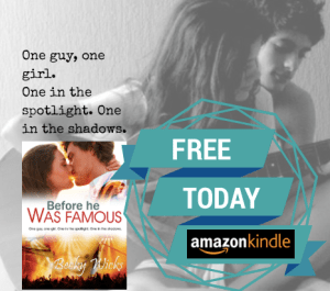 Before He Was Famous is FREE on Amazon. Review to win $100 voucher.