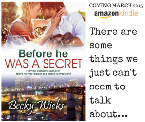 It's cover reveal day for Before He Was A Secret. Exclusive excerpt here…