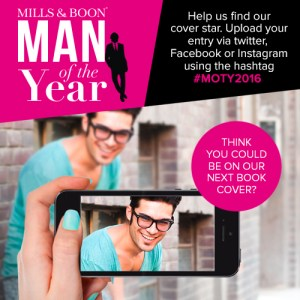 Who's the Mills and Boon Man Of The Year 2016? Get your face on a book cover!